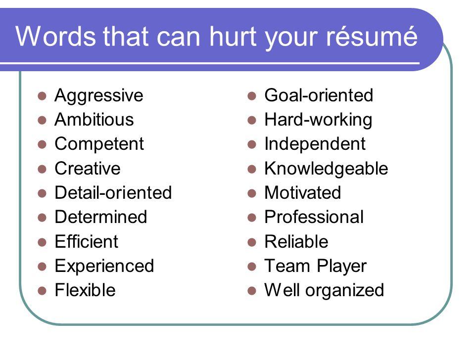 résumé writing how to get noticed résumé purpose to get an