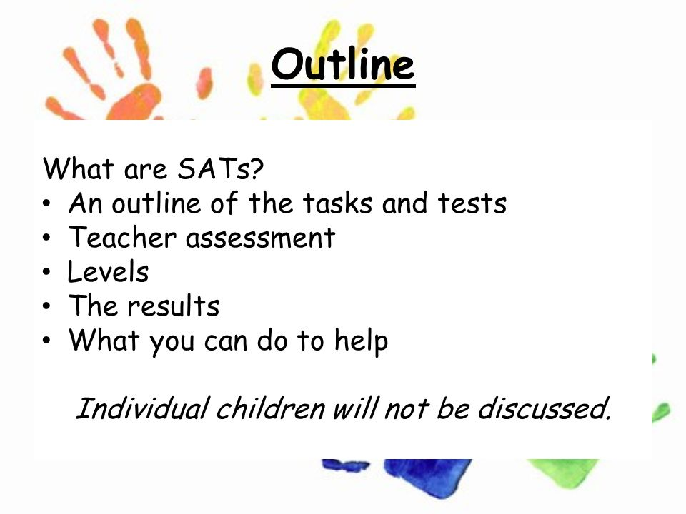 Monday 24th March 2014 KS1 SATs Meeting. Outline What are SATs? An ...
