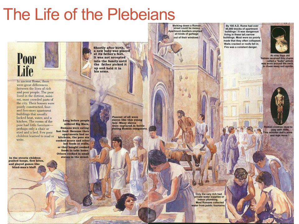 The Life of the Plebeians