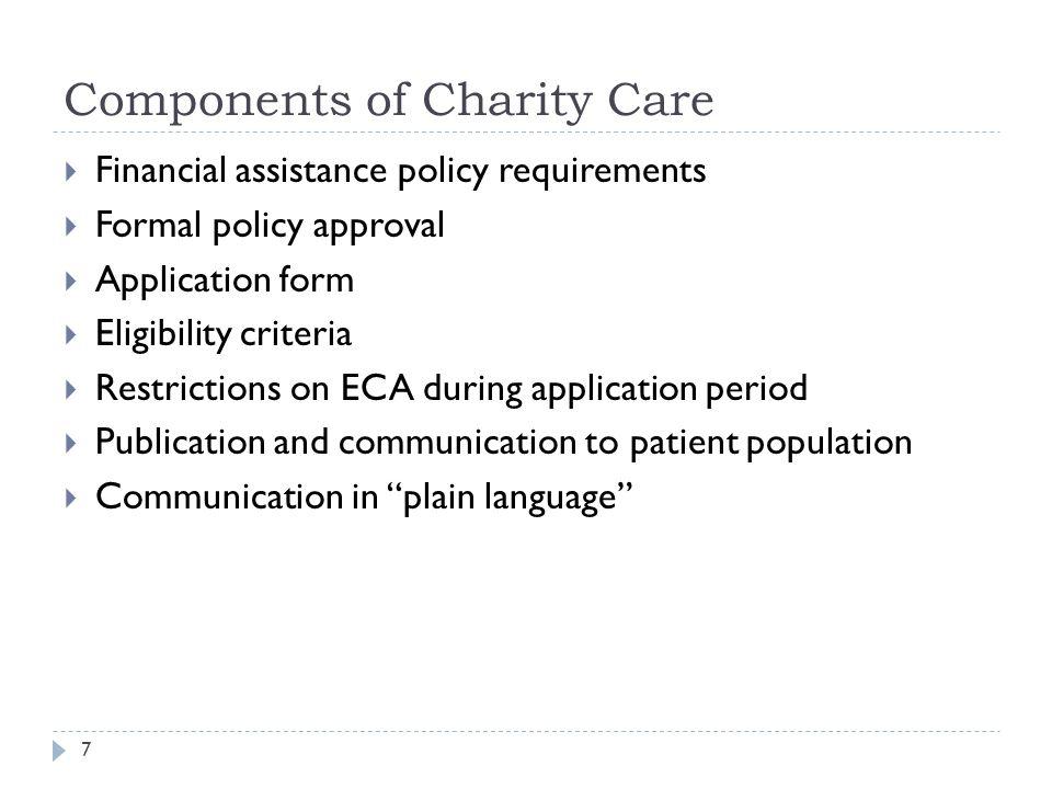 Charity Update WV HFMA May 16, 2013 Sandra J Wolfskill, FHFMA ...
