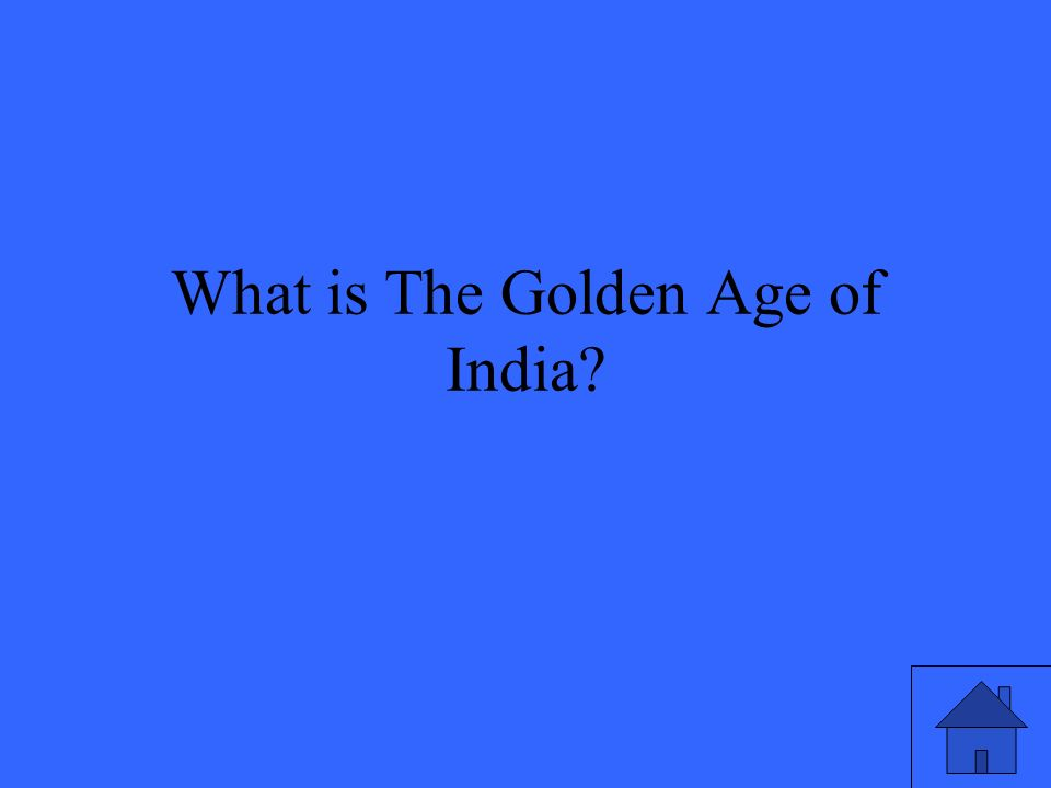 What is The Golden Age of India