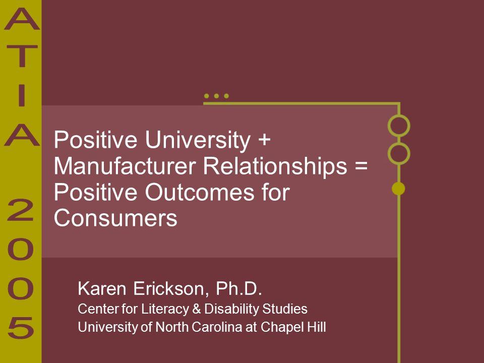 Karen Erickson, Ph.D.