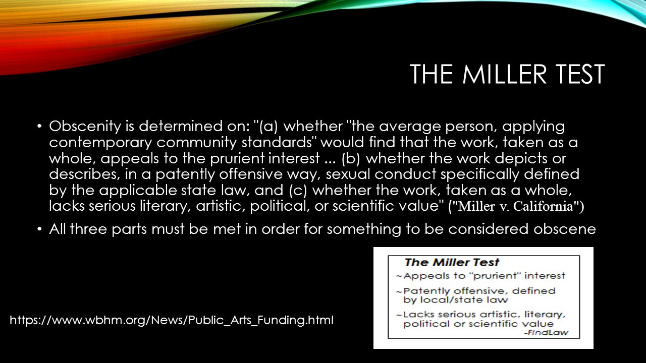 miller v california essay Miller v California essay help