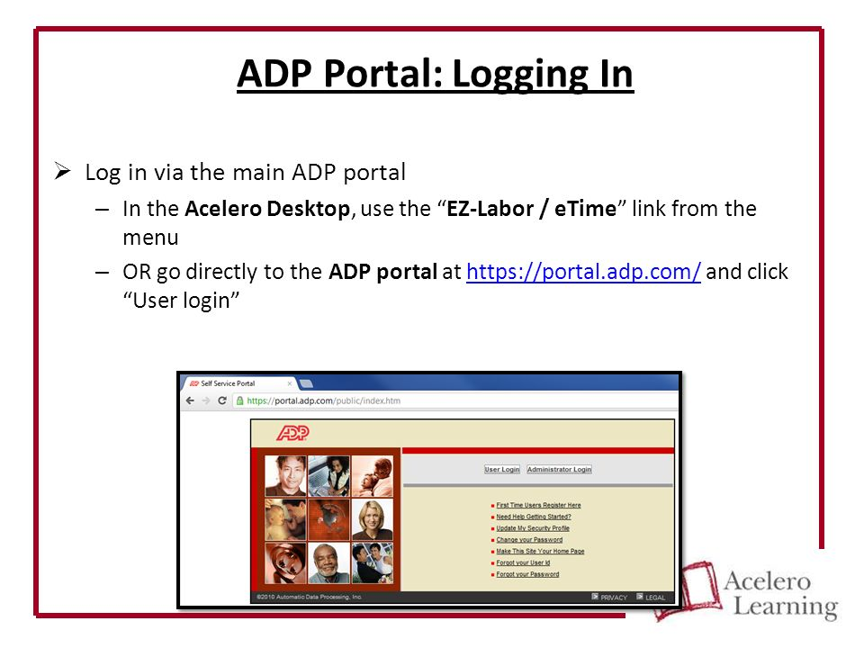 ADP E-Time Basic User Tutorial Manager Guide. Tasks covered in this ...