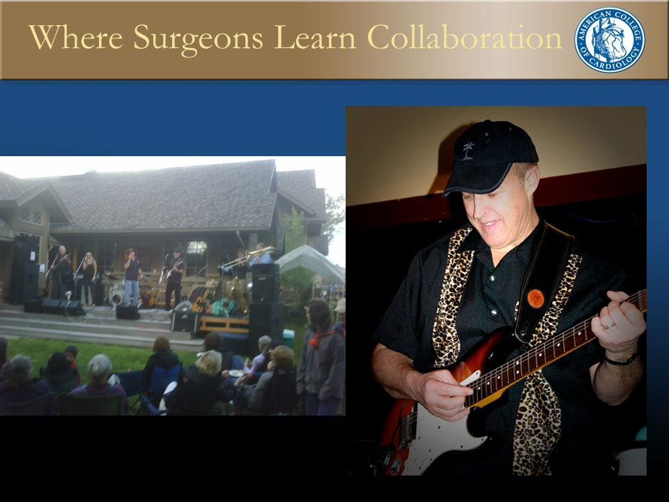 Where Surgeons Learn Collaboration