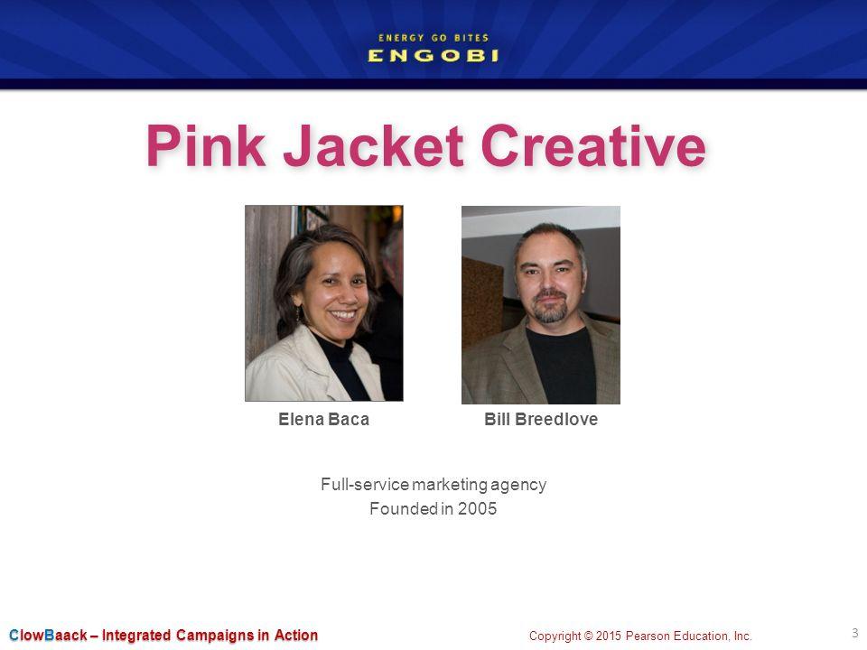 Engobi Pink Jacket Creative for Integrated Advertising, Promotion ...