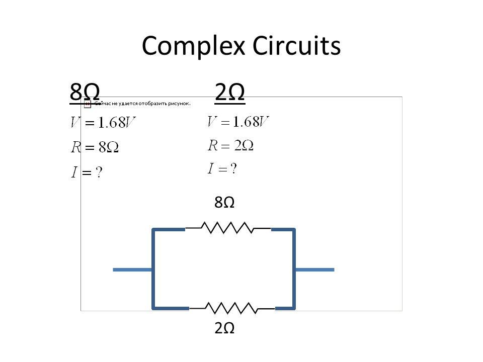 Complex Circuits 8Ω2Ω8Ω2Ω 8Ω2Ω8Ω2Ω