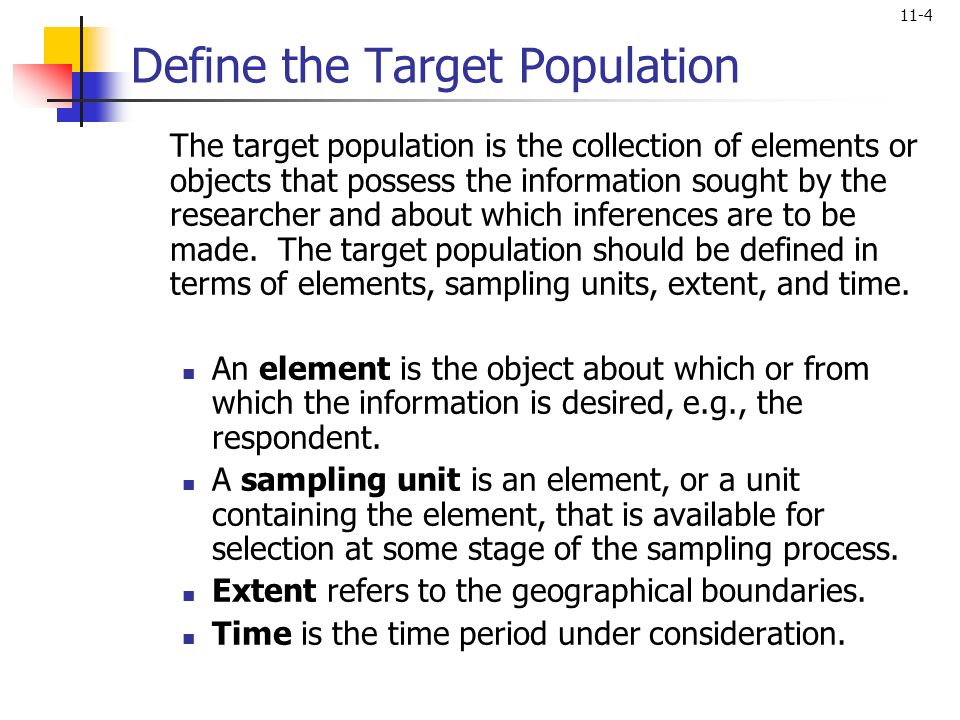 Sampling: Design and Procedures Sample vs. Census Table ppt download