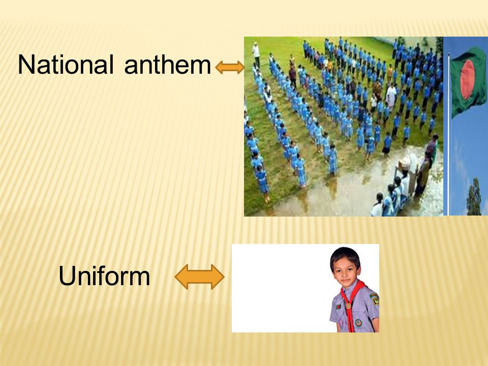 Uniform National anthem