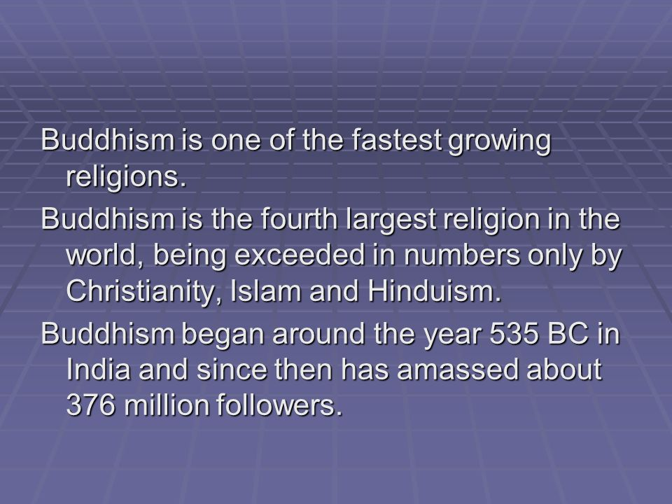Major World Religions Overview BUDDHISMBUDDHISM Ppt Download - World religions explained