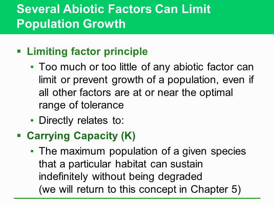 Image result for population  growth limiting factors