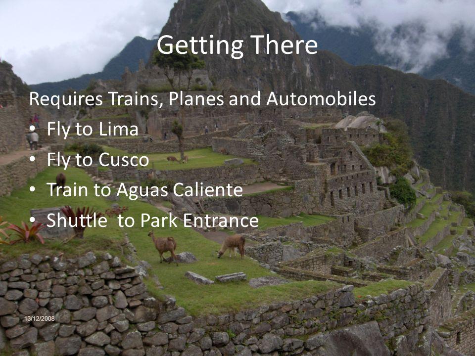 Machu Picchu WHY Travel To Machu Picchu WHERE Is Machu Picchu - How far is machu picchu from lima