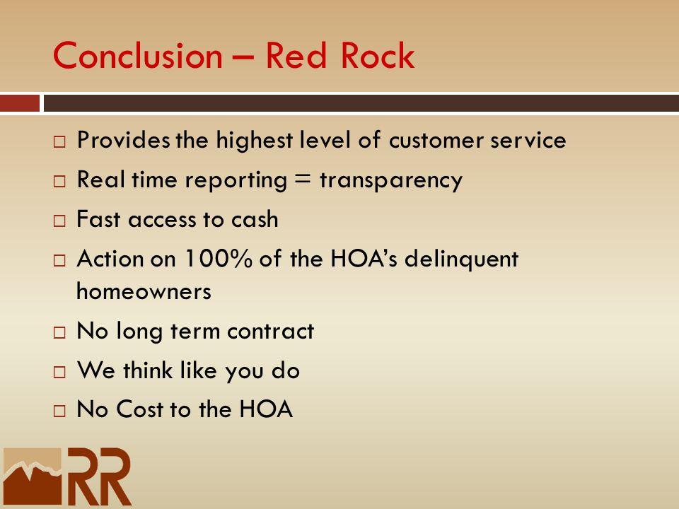 customer service conclusion