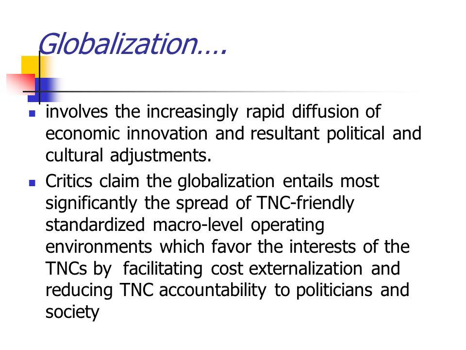 Globalization….