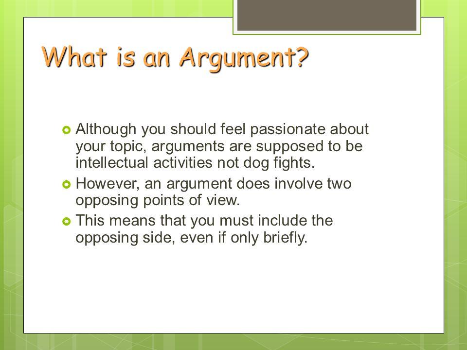 Formal argument paper grammar?