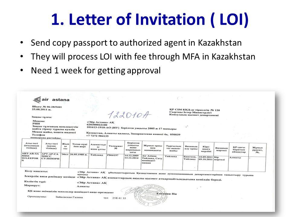 How to apply kazakhstan visa 11 june letter of invitation loi 3 send stopboris Images