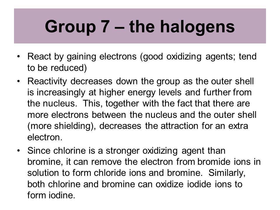 Periodic table group 7 periodic table similarities periodic table and chemical properties of groups 8 18 1 periodic table group 7 urtaz Choice Image