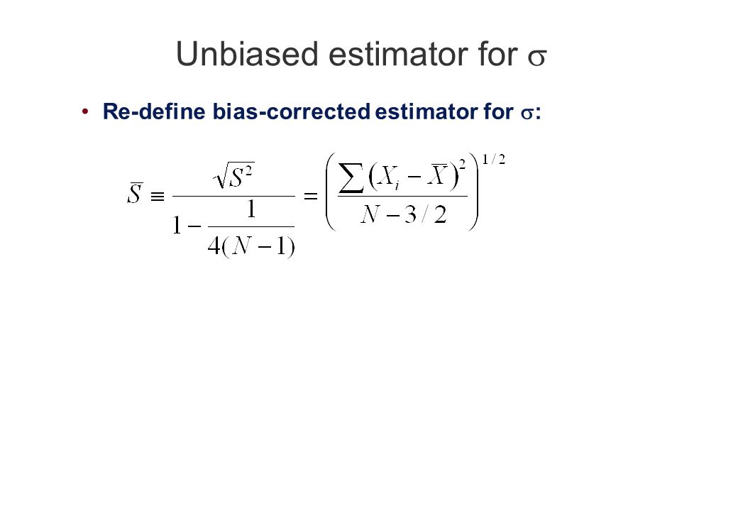 Sample Variance And Sample Error We Learned Recently How To
