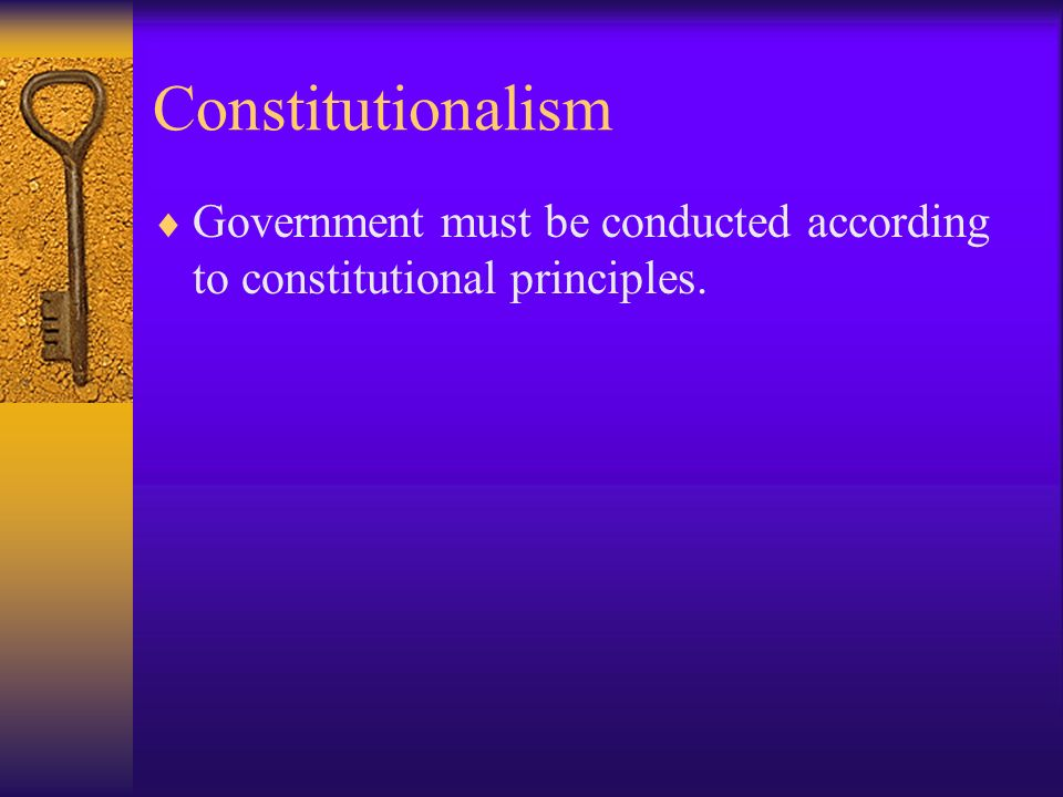 Articles of the Constitution Chapter 3, Section 1