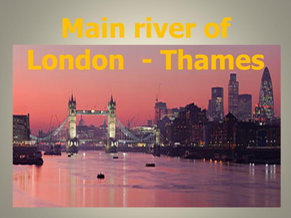 Main river of London - Thames