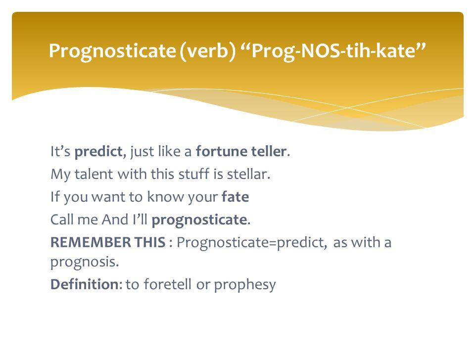 8 Itu0027s Predict ...