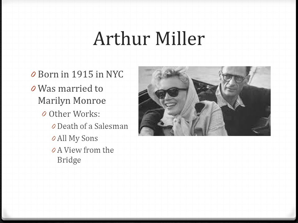 a comparison of arthur millers death of a salesman and all my sons Compare contrast essays - comparing death of a salesman by arthur miller and fences by august wilson.