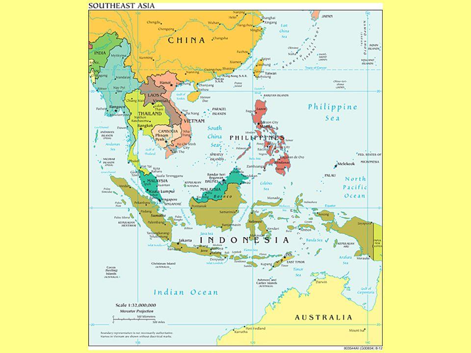 Southeast Asia Countries Vietnam Laos Cambodia Thailand Myanmar - Where is brunei