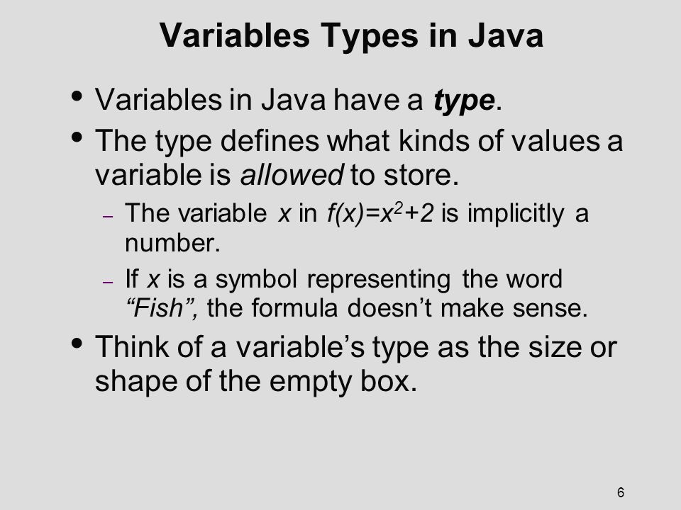 Chapter Two Fundamental Programming Structures In Java Adapted From