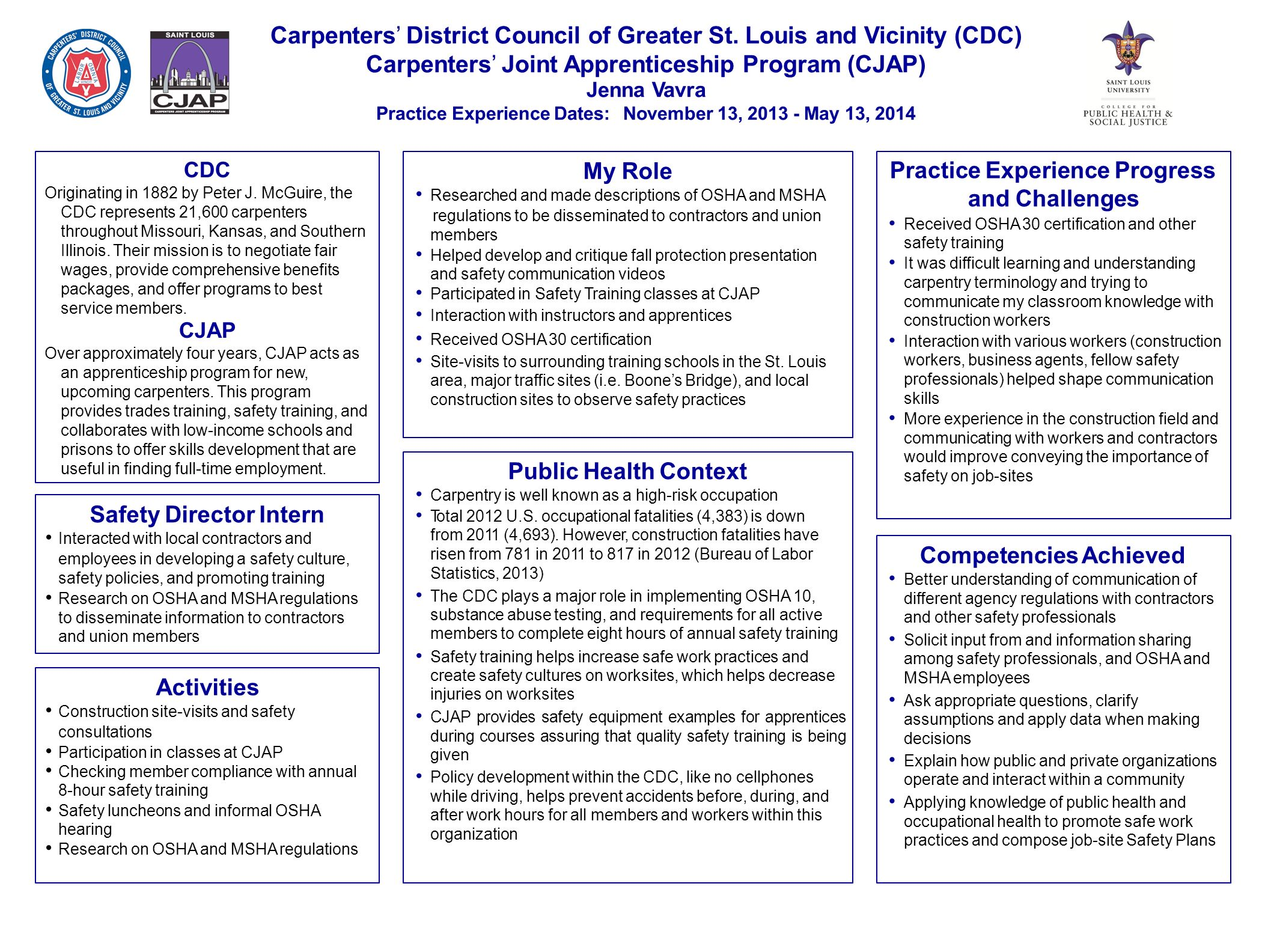 Saint charles county department of community health environment saint charles county department of community health environment andrew adams june 2014 september 2014 organization st charles county department of 1betcityfo Choice Image