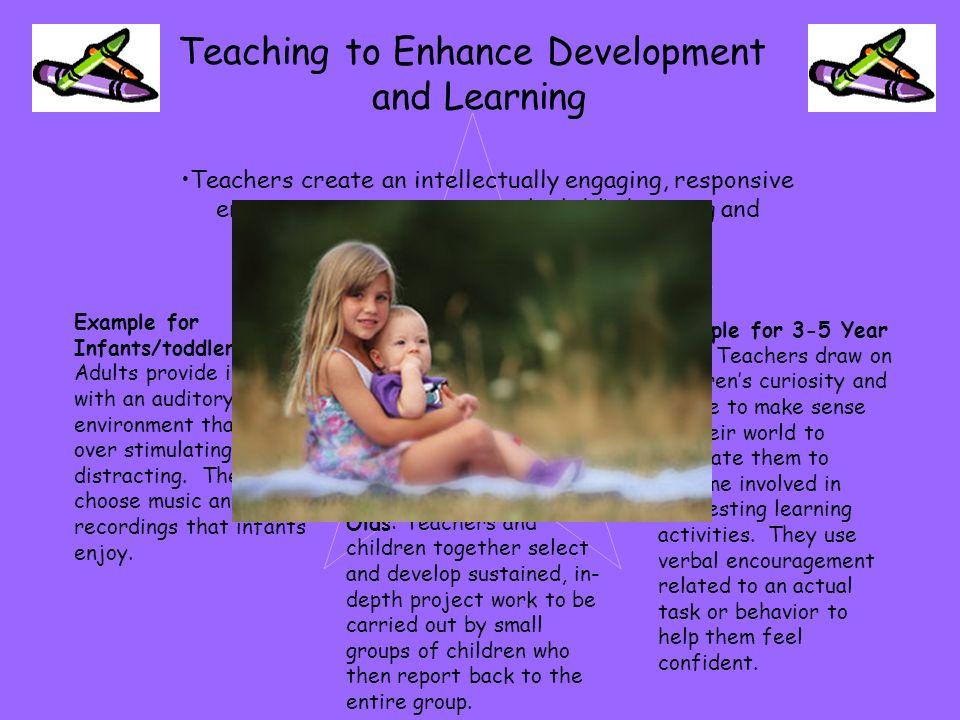 Teachers make plans to enable children to attain key curriculum goals across various disciplines.