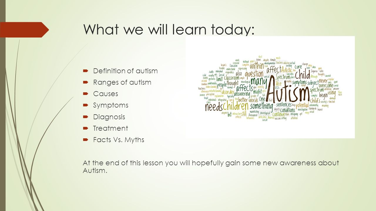 the clinical causes symptoms and treatment of autism Health library article what causes autism are designed so a doctor can assess a child's behavior relating to core symptoms of autism clinical.