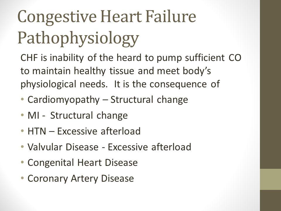 chf pathophysiology