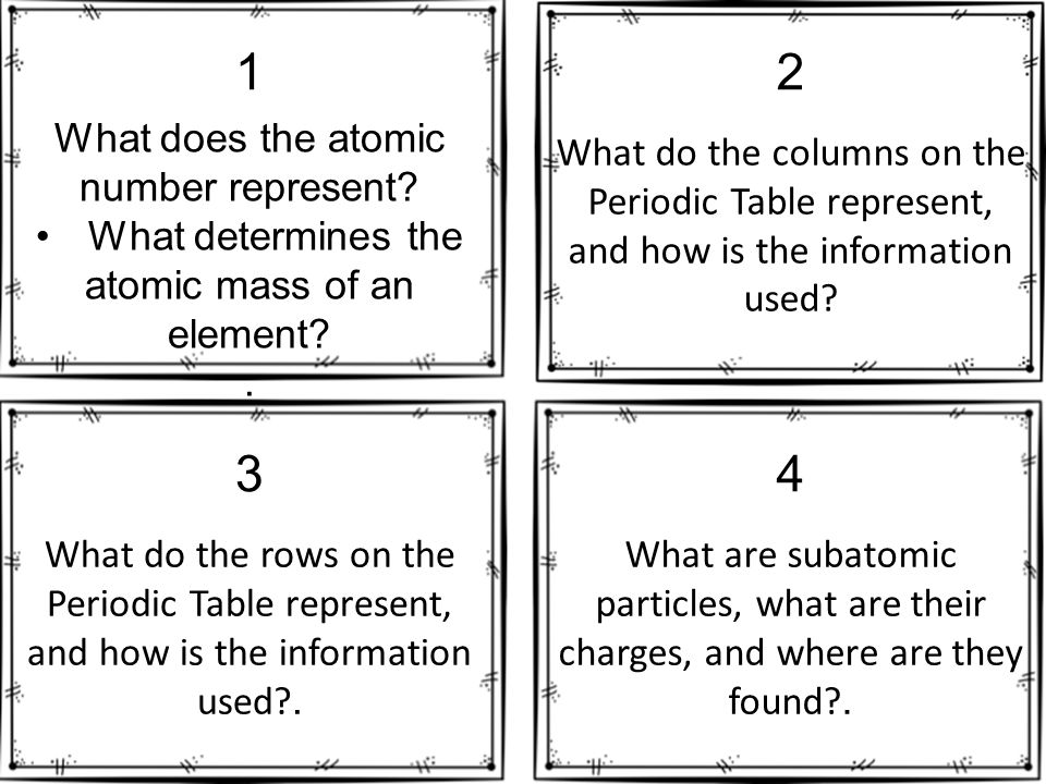What does the atomic number represent what determines the atomic what does the atomic number represent what determines the atomic mass of an element urtaz Image collections