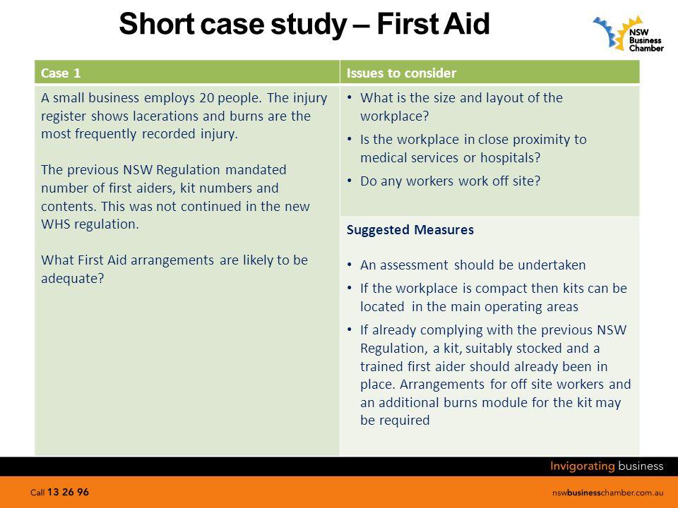 case study ohs