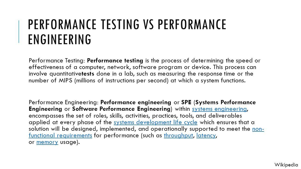 performance engineering - Madran kaptanband co