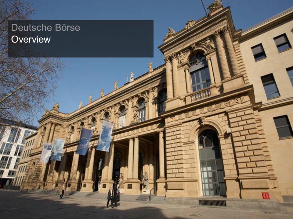 33 Deutsche Börse Overview