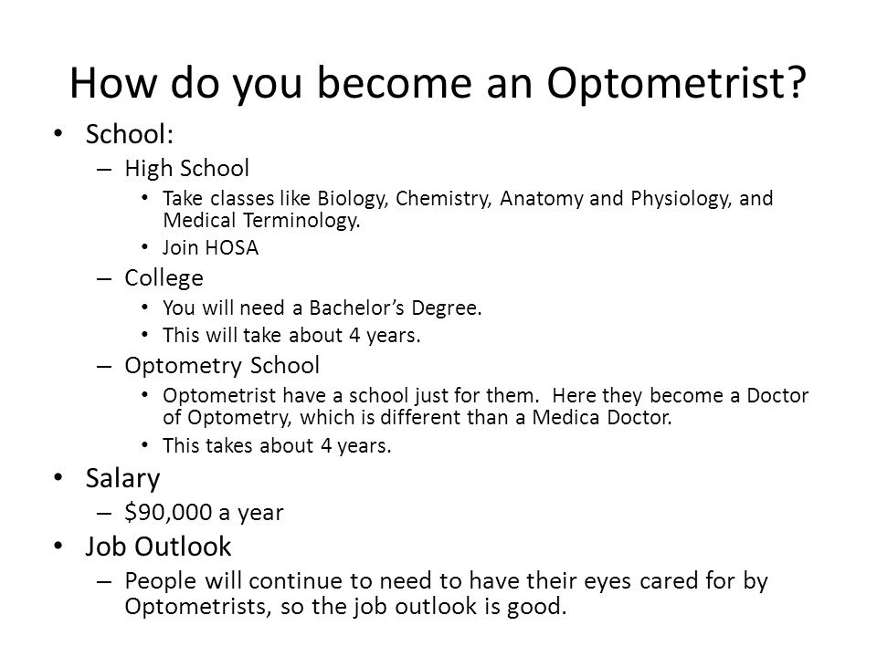 ophthalmologist/optometrist/ optician cte intro. how well do you, Human Body