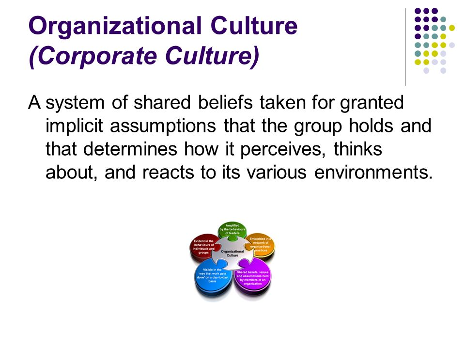 organisational sturctures and culture
