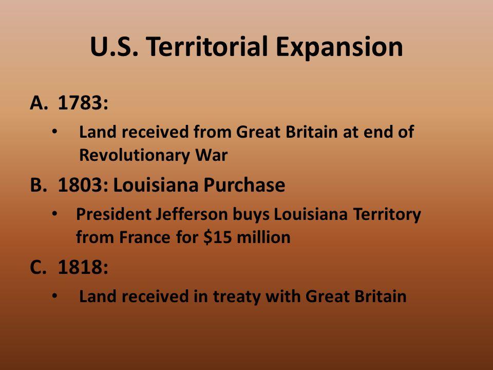 Short Essay On The Louisiana Purchase