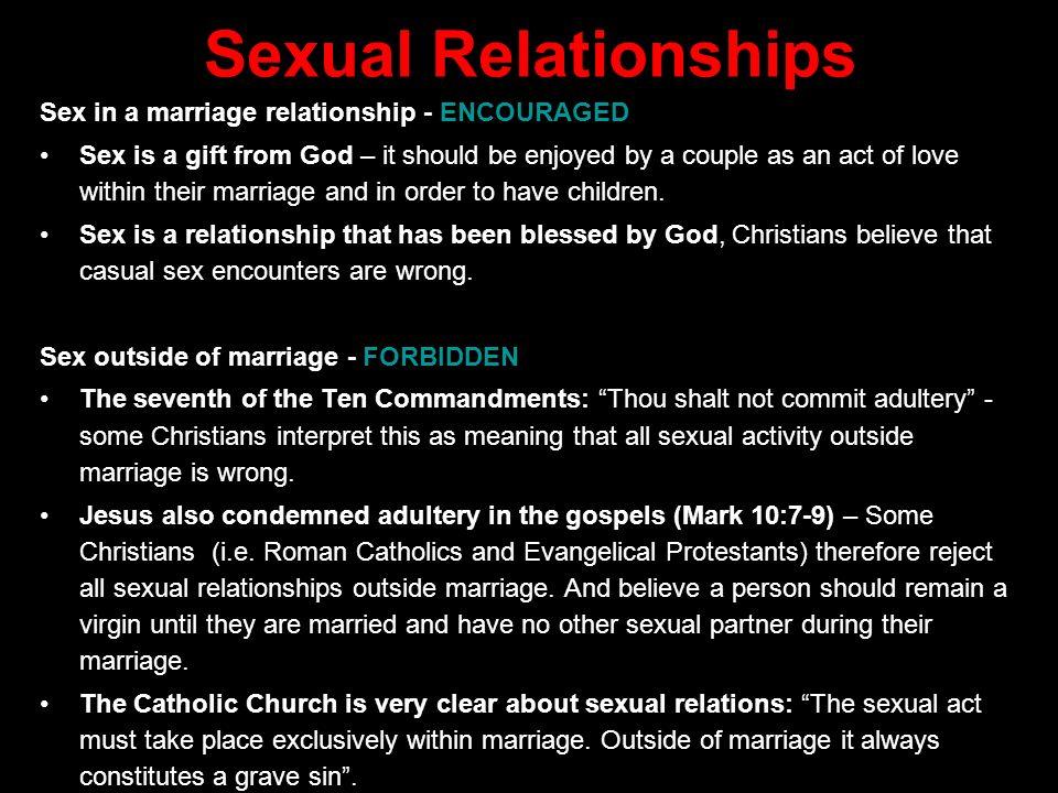Catholic meaning of sex