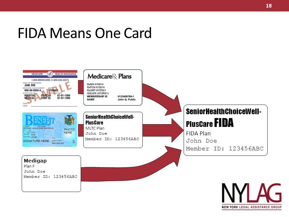 FIDA: Fully Integrated Dual Advantage & MLTC UPDATE FIDA ...