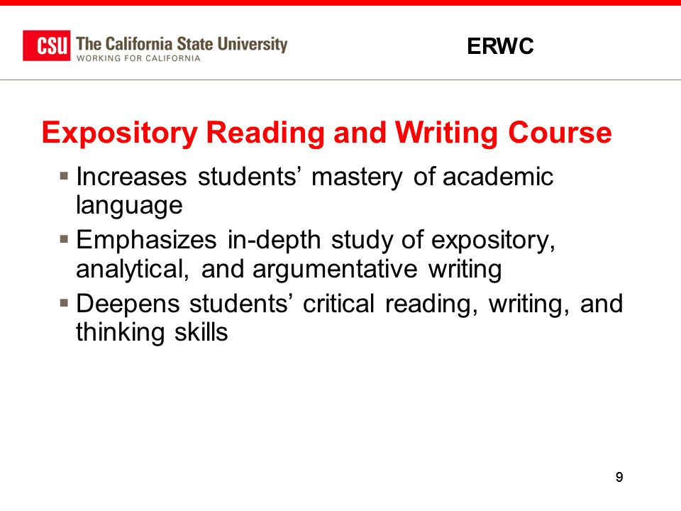 expository writing course