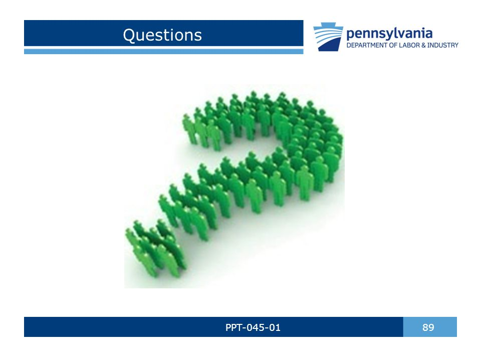 Questions PPT-045-01 89