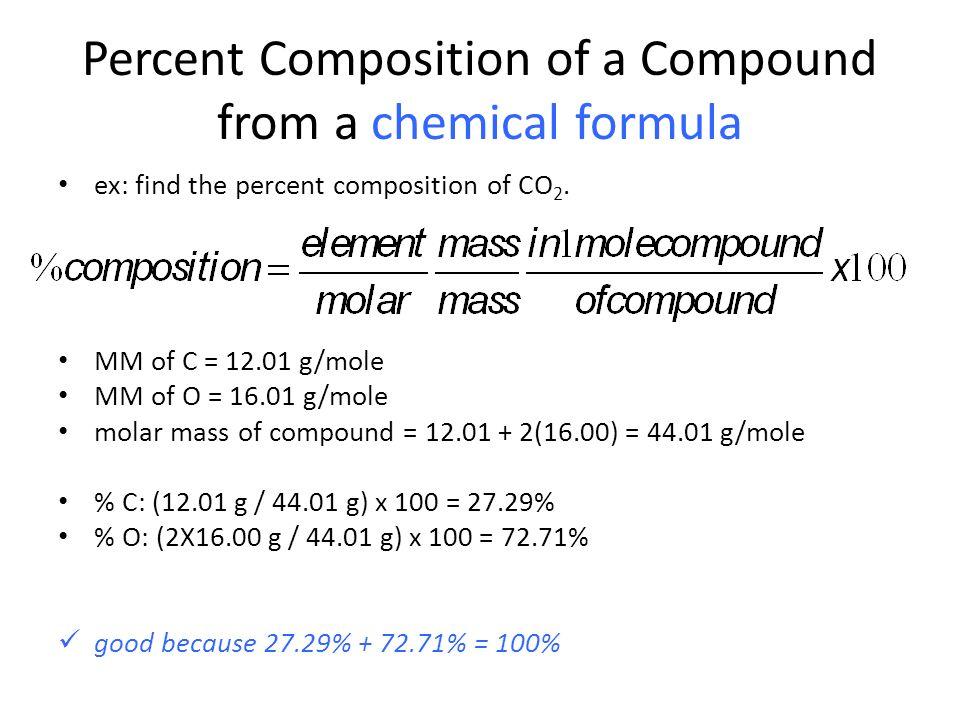 Percent Composition Empirical Formula and Molecular Formula – Percent Composition and Molecular Formula Worksheet