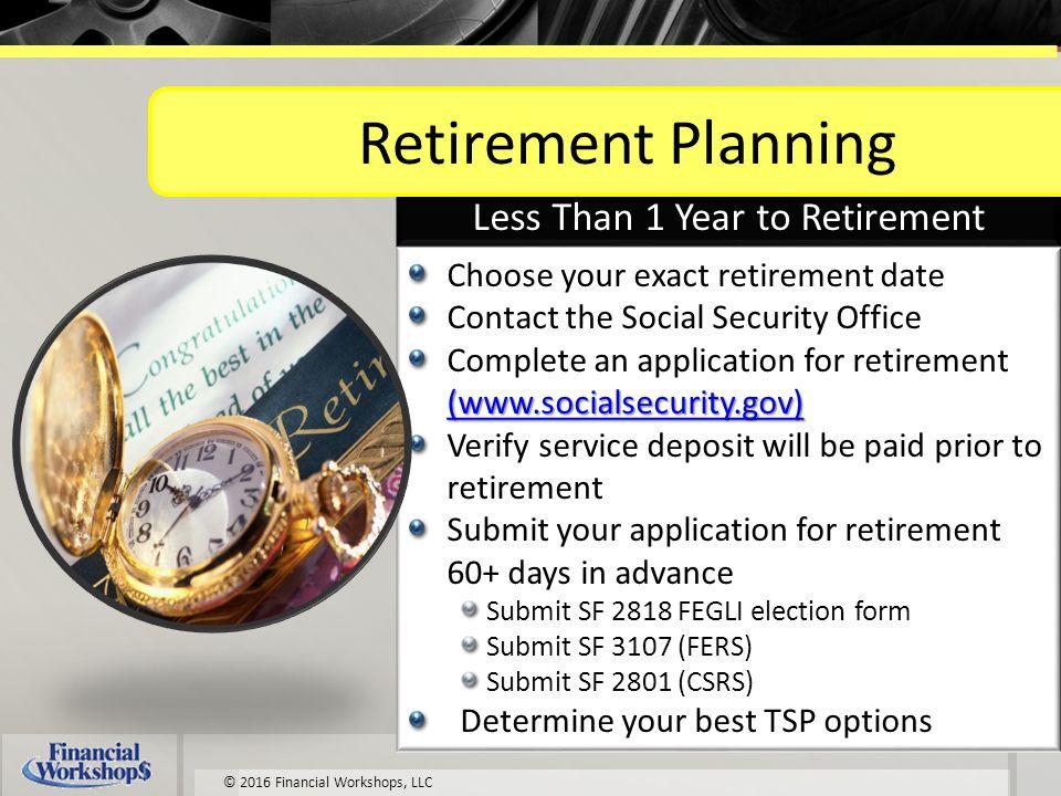University Of Missouri Federal Employees Pre Retirement Workshop