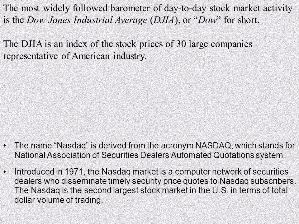 nasdaq stock quotes