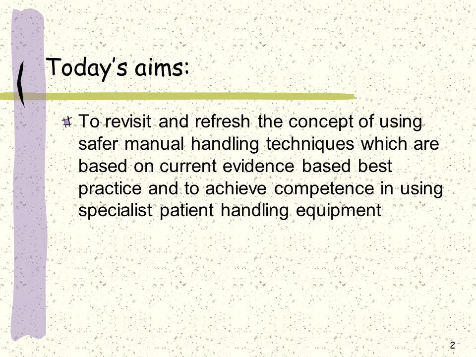 safer manual handling update training east midlands ambulance, Presentation templates