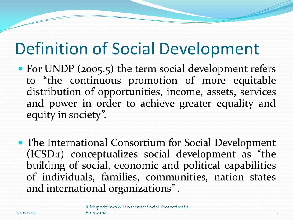 SOCIAL DEVELOPMENT DEFINITION EPUB