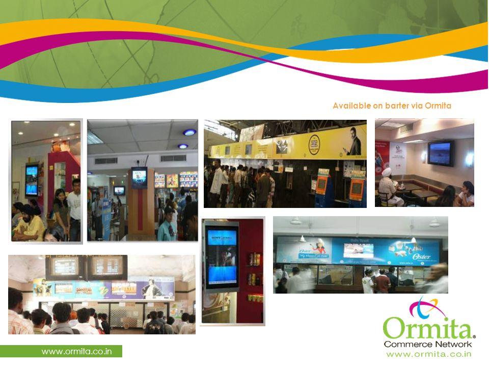 www.ormita.co.in Available on barter via Ormita