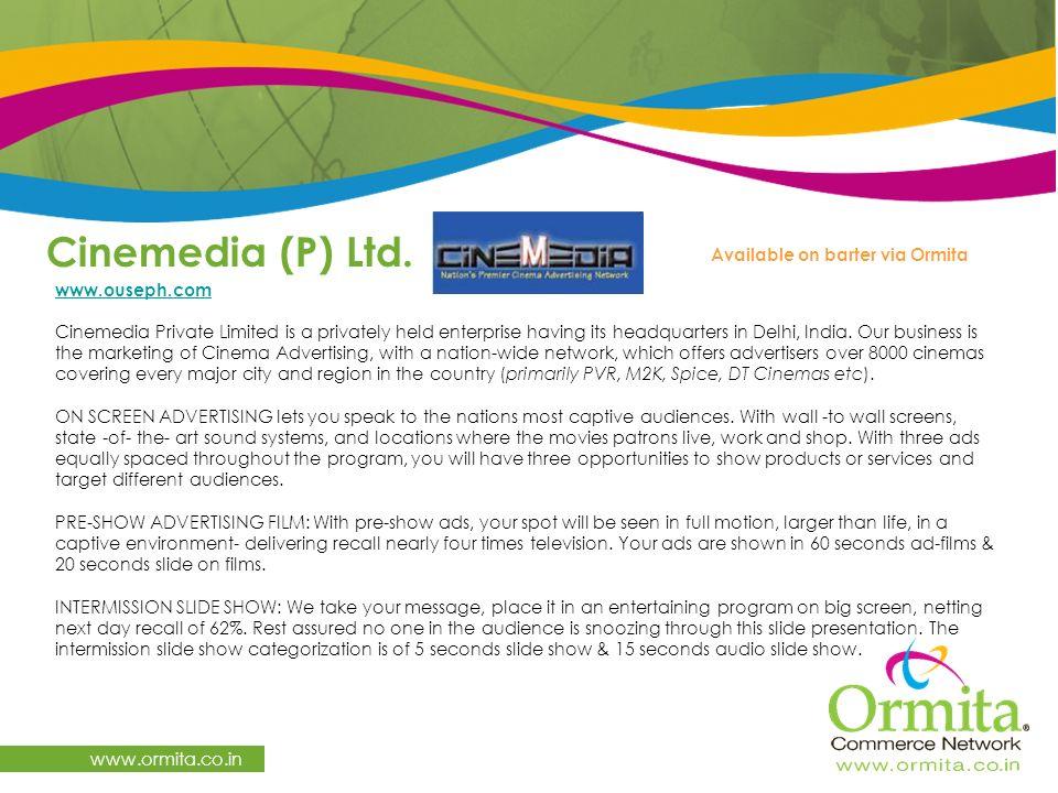 Cinemedia (P) Ltd.